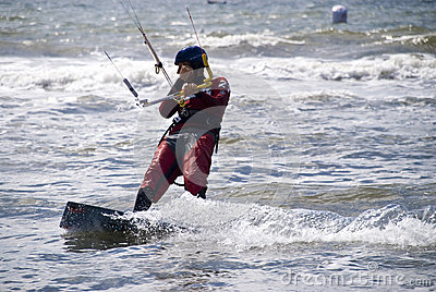 Kiting Editorial Stock Photo