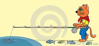 Kitten - fisher