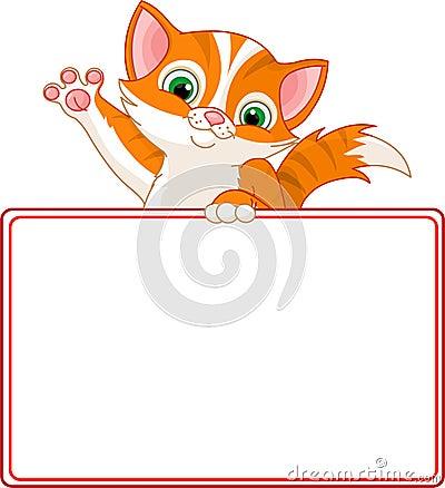 Kitten Place Card
