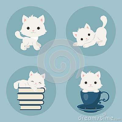 Free Kittens Icons Stock Photos - 73011583