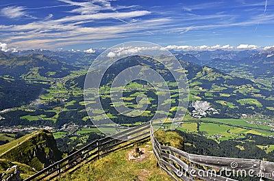 Kitzbuhel Alps in Tyrol, Austria