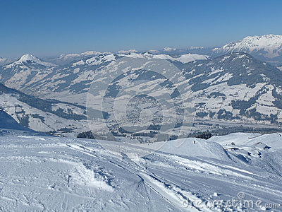 Kitzbuhel ski resort