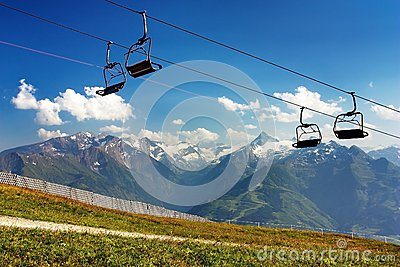 Kitzbuheler Alpen to Hohe Tauern with chairlift