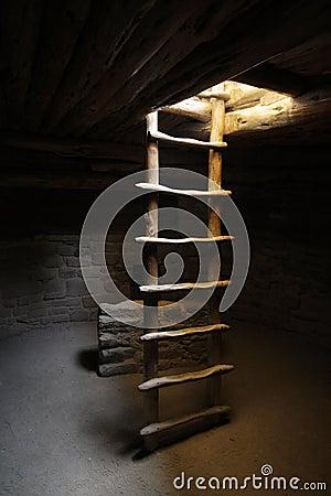 Free Kiva Ladder Royalty Free Stock Photo - 5560165