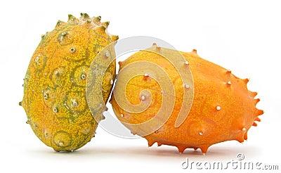 Kiwano horned melon fruit