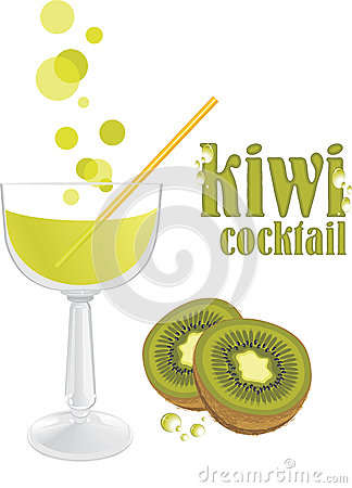 Kiwi cocktail