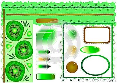 Kiwi design elements