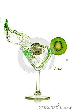 Kiwi and drink