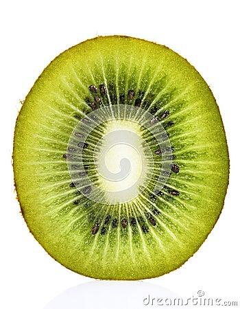 Kiwi Fruit Cross Section