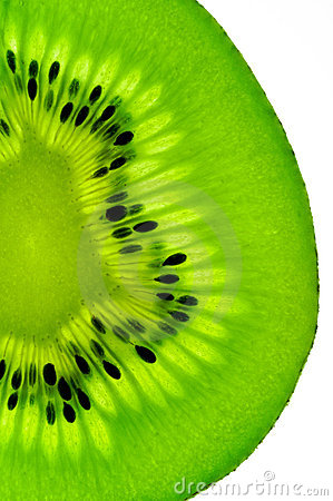 Free Kiwi Fruit  Slice On A Light Table Royalty Free Stock Photography - 1986987
