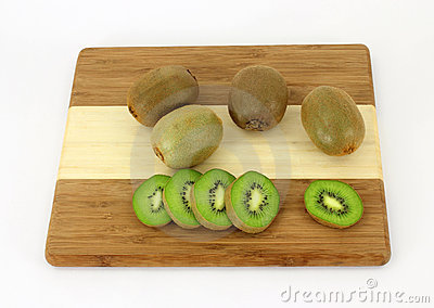 Kiwi Fruit and Slices