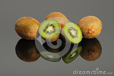 Kiwi Fruit on Table