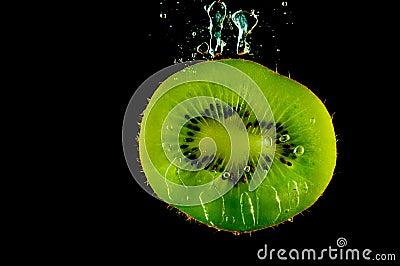 Kiwi fruit in water
