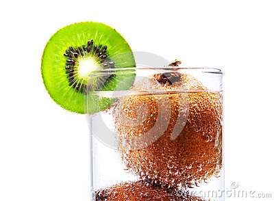 Kiwi fruit wet