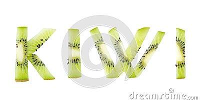 Kiwi fruit word