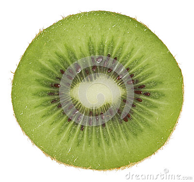 Kiwi isolated on white