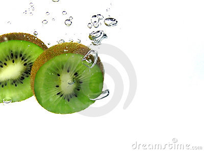 Kiwi slices and bubbles