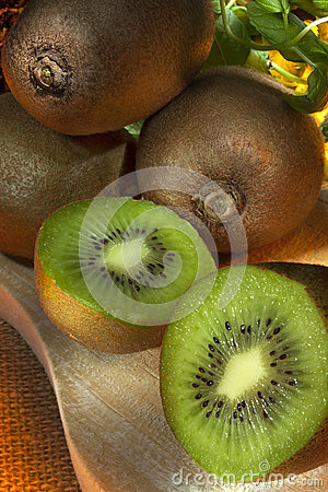 Kiwi or Kiwifruit - Chinese Gooseberry