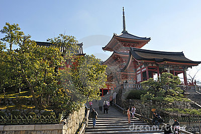 Kiyomizu-dera Editorial Photo