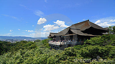 Kiyomizu-dera Editorial Photography