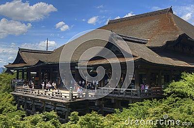 Kiyomizu-dera Editorial Stock Image
