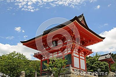 Kiyomizu-Dera Entrance Gate