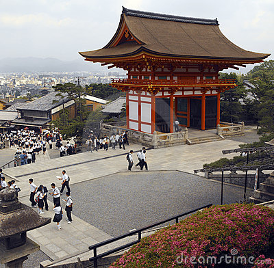Kiyomizu-Dera Temple - Kyoto - Japan Editorial Photo