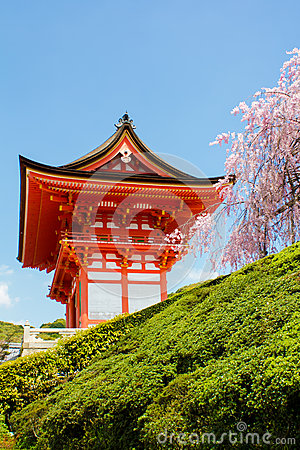 Kiyomizu dera Temple in Kyoto ,Japan