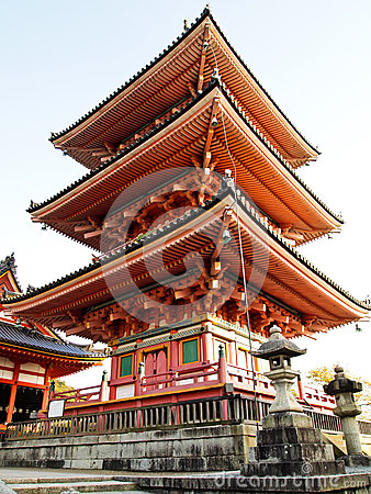 Free Kiyomizu Temple At Kyoto In Japan Royalty Free Stock Photography - 47214727
