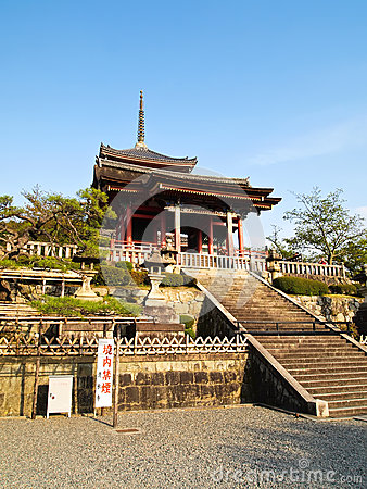 Free Kiyomizu Temple At Kyoto , Japan Stock Images - 47214834