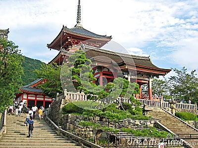 Kiyomizudera Temple Japan