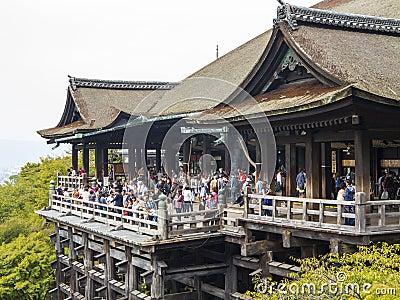 Kiyomizudera Temple, Kyoto Editorial Photo