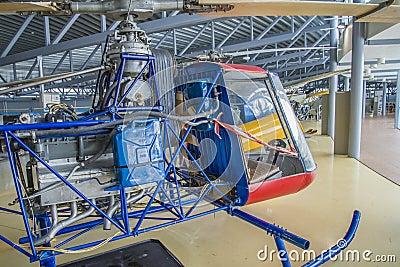 Kjeller pk x-1 helicopter Editorial Photo