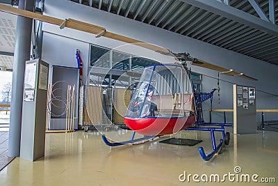 Kjeller pk x-1 helicopter Editorial Image
