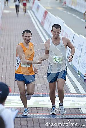 KL Marathon Runner Editorial Photography