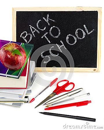 Klaar schoolbehoeften