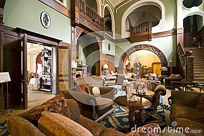 Klassieke hotelhal