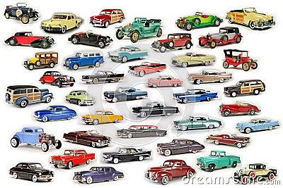Klassische Auto-Zusammensetzung