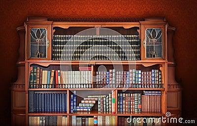 klassische bibliothek antike m bel stockfoto bild 39498639
