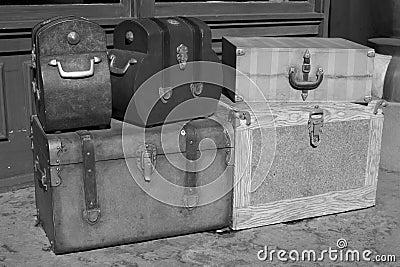 Klassiska resväskor