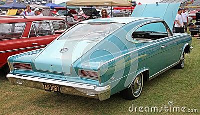 Klasyczny Rambler samochód Zdjęcie Editorial