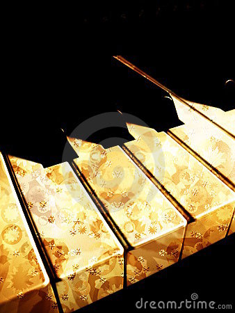 Klavier Retro-