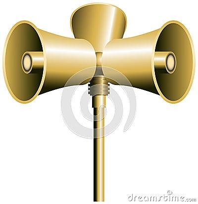 Klaxon de haut-parleur