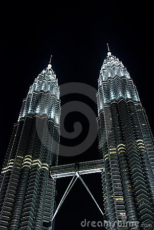 KLCC, Petronas twin towers