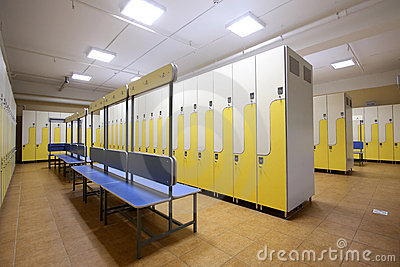 Kleedkamer royalty vrije stock fotografie afbeelding 11215867 - Moderne slaapkamer met kleedkamer ...