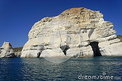 Kleftiko caves, Milos Island