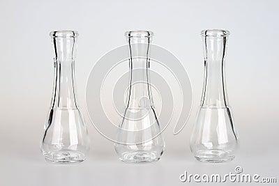 kleine glasflaschen stockbild bild 29503271. Black Bedroom Furniture Sets. Home Design Ideas