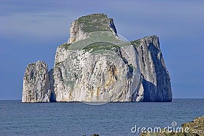 Kleine Insel von Pan di Zucchero