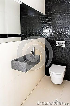 kleine toilette stockfotos bild 8196733. Black Bedroom Furniture Sets. Home Design Ideas