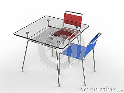 die kleinen roten st hle m belideen. Black Bedroom Furniture Sets. Home Design Ideas